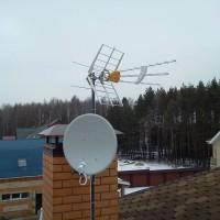 Установка и ремонт антенн.